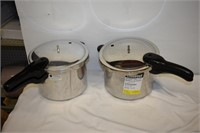 (2) Pressure Cookers (Both Incomplete)