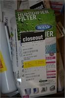 Bucket Lids, Kenmore Refrigerator Filters, etc.