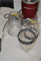 (2) NutriBullets (Only 1 Blade) with Travel Cups