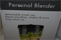 Personal Blender (Tested to Start), & Toaster