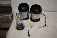 (2) Ninja Smoothie Makers with (1) Cup & Blade