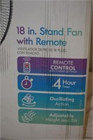 """Kenmore 18"""" Stand Fan with Remote"""