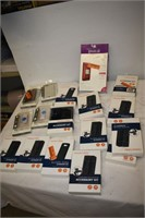 Large Group of Assorted Phone Cases
