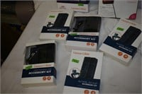 (2) Flip Phones with Assorted Accessory Kits
