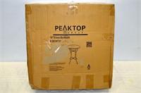 """Peaktop 18"""" Glass Birdbath"""