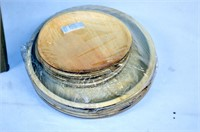 Cater Eco Disposable Wood Plates