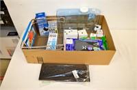 Box of Assorted Housewares, Hardware, Et.