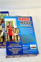 (3) Magic Mesh Hands Free Screen Doors