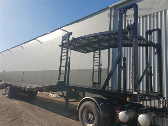 2014 Topstart Car Carrier Trailer North East Isuzu - Trailers for Sale