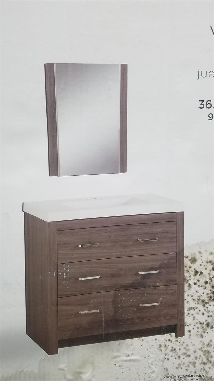 36 vanity combo