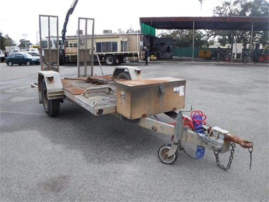 1991 Guiding Star Single Axle Plant Trailer - Trailers for Sale
