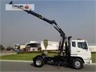 2001 Mitsubishi FP547 Crane Truck