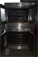 2 BAKERS PRIDE STACKABLE CONVECTION OVENS