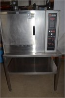 GROEN STAINLESS STEEL OVEN WITH STAINLESS STEEL TA