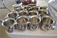 14 STAINLESS CREAMERS