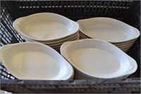LOT OF APPETIZER PLATES