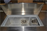 STAINLESS STEEL REFRIGERATED PREP STATION