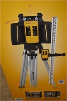 Interior/Exterior Self-Leveling Rotary Laser Kit