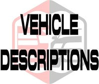 Vehicle Descriptions