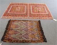 Two Hand Woven Rugs