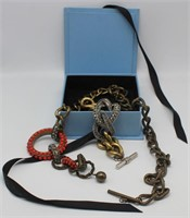 JEWELRY. Lanvin Necklace and Bracelet Grouping.
