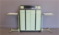 Antique All American Dental Cabinet and Matching