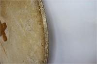 Modern Saporetti Round Onyx Tabletop