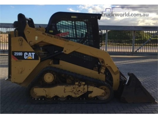 2014 Caterpillar 259D Skid Steers - Tracked