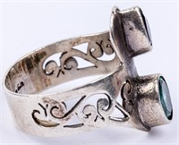 Jewelry Sterling Silver Bracelet and Ring