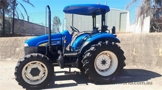 2005 New Holland TD60D Black Truck Sales - Farm Machinery for Sale
