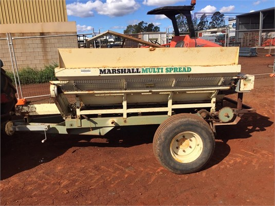 Marshall 525T Black Truck Sales - Farm Machinery for Sale