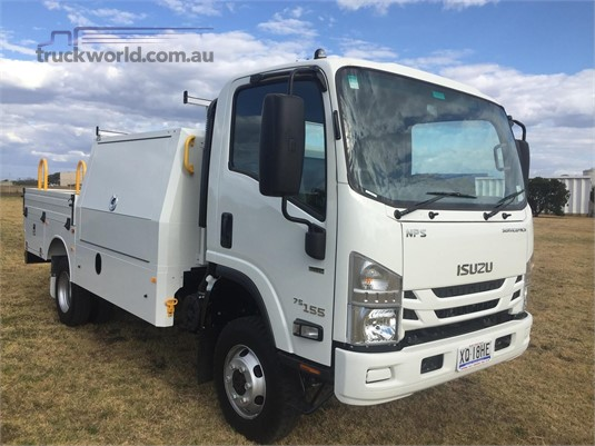 2019 Isuzu NPS 75 155 Black Truck Sales - Trucks for Sale