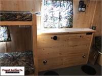 2010 Trophy Hunter fish house, 8'x16' plus V-front