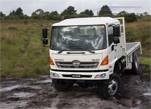 Hino Australia Announces 500 Series GT 4x4 Updates At AFAC 2019 Conference