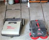 2- Shop Floor Sweepers