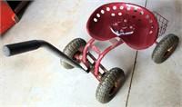 Shop Seat w/Wheels