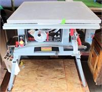 "Craftsman Table Saw, 10"";"