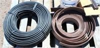 Black Plastic Pipe, Lawn Edging