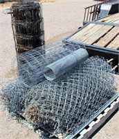 Rolls of Wire/Chain Link Fencing