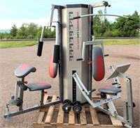Weider Club 4870 Weight Training Unit (view 1)