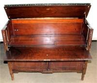 Antique Dresser (view of top open)