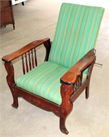 Antique Morris Chair (view 1)