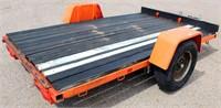 HMD Flatbed, 6'x10', bumper-pull, single-axle, no title (view 1)