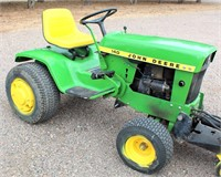 JD 140 Tractor/Lawn Mower (view 2)