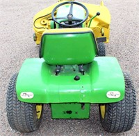 JD 140 Tractor/Lawn Mower (view 3)