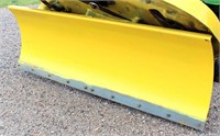Front Blade on JD Tractor/Mower (view 4)