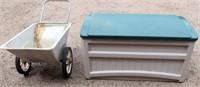 Garden Cart and Storage Box