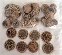 Coin Lot 1 - Wooden Nickels