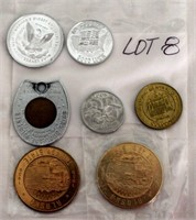 Coin Lot 8 -  Misc Coins