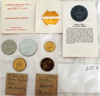 Coin Lot 9 -  Misc Tokens & Medals